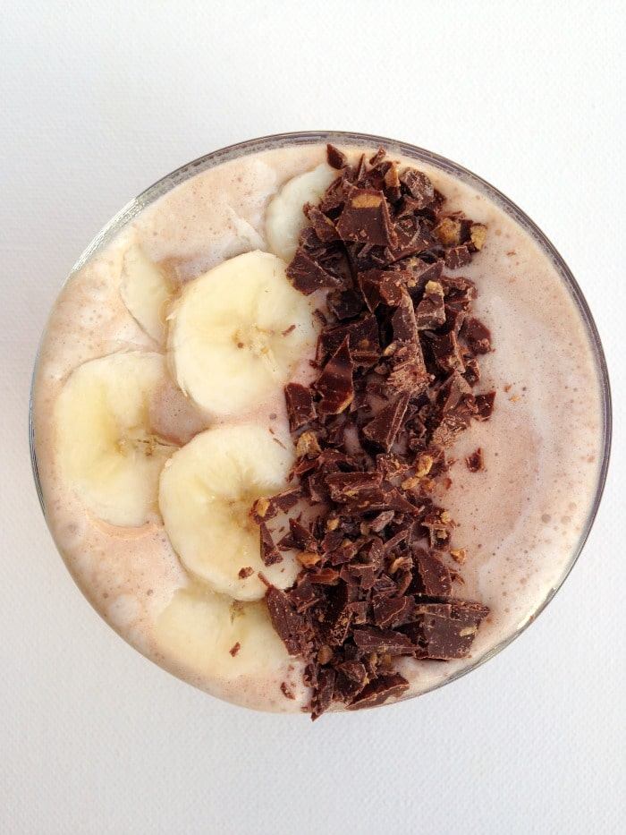 Chocolate Banana Smoothie : Homemade Mommy