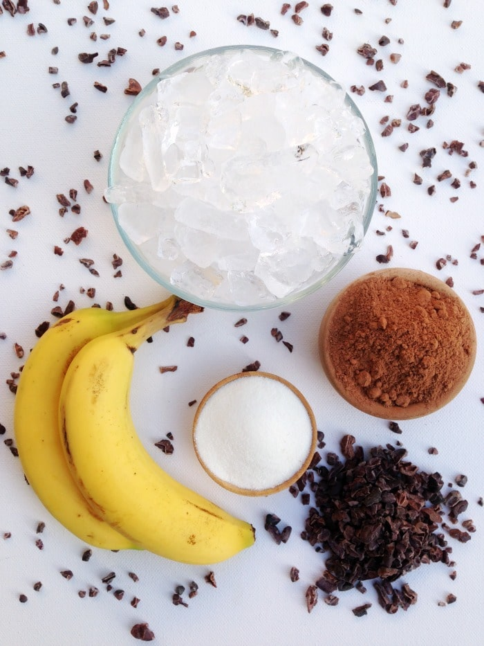 Chocolate Banana Smoothie | Homemade Mommy