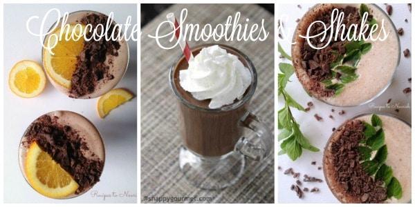 Chocolate Smoothies & Shakes