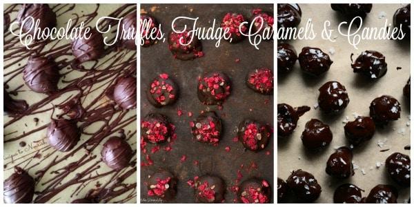 Chocolate Truffles, Fudge, Caramels & Candies