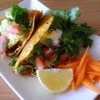 Grass-fed Beef Tacos {Gluten Free}
