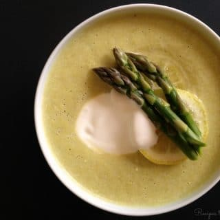 Instant Pot Cream of Asparagus Soup