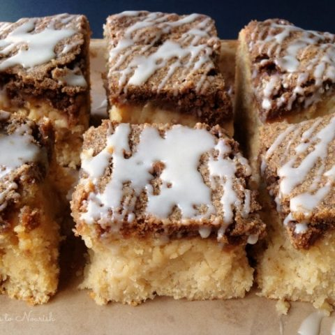 Grain Free Sour Cream Coffee Cake