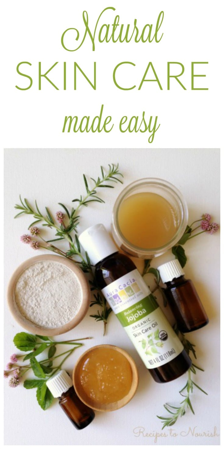 Make My Own Natural Skin Care Products