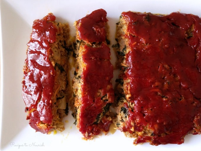 Nourishing Meatloaf ... this homestyle, classic, real food meatloaf is absolutely delicious, succulent, full of veggies and total comfort food. {Grain Free}| Recipes to Nourish