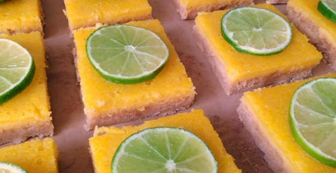 Grain Free Lime Bars