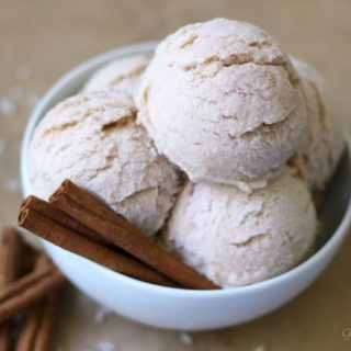 Real Food Horchata Ice Cream