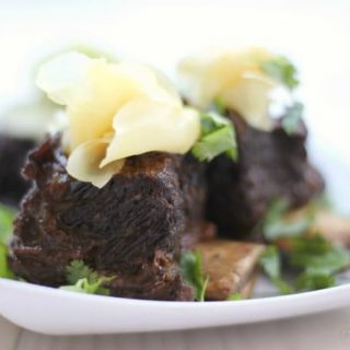 Instant Pot Asian Short Ribs {Gluten Free}