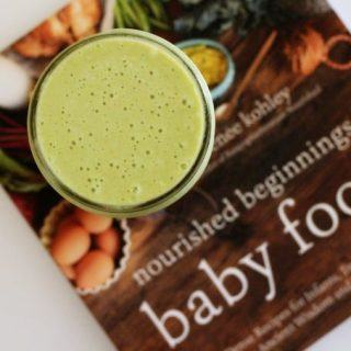 Nourishing Tropical Green Smoothie