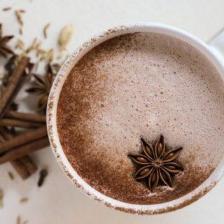 Real Food Chai Hot Chocolate {Nourishing}