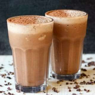 Real Food Chocolate Peanut Butter Protein Shake