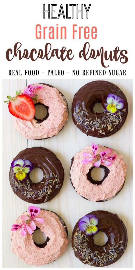 Grain Free Chocolate Donuts | Recipes to Nourish