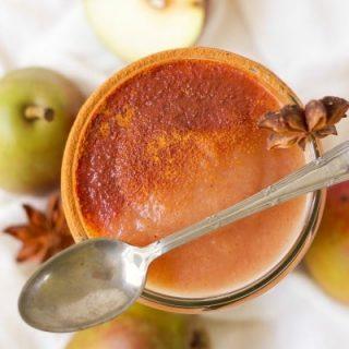 3 Minute Sugar Free InstantPot Pear Applesauce