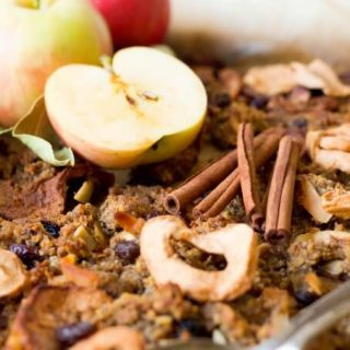 Nut Free Paleo Apple Cinnamon Granola