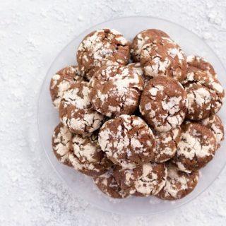 Grain Free Chocolate Crinkles