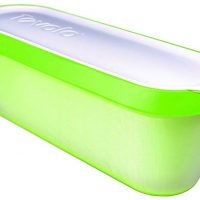 Tovolo Glide-A-Scoop, Non-Slip Base, Insulated Ice Cream Tub, 1.5 Quart, Pistachio