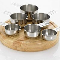 Bellemain Stainless Steel Measuring Cup Set, 6 Piece