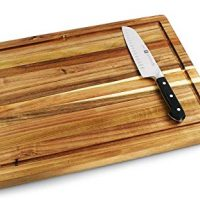 Villa Acacia Large Cutting Board with Juice Groove 20 x 15 x 1.25 Inch