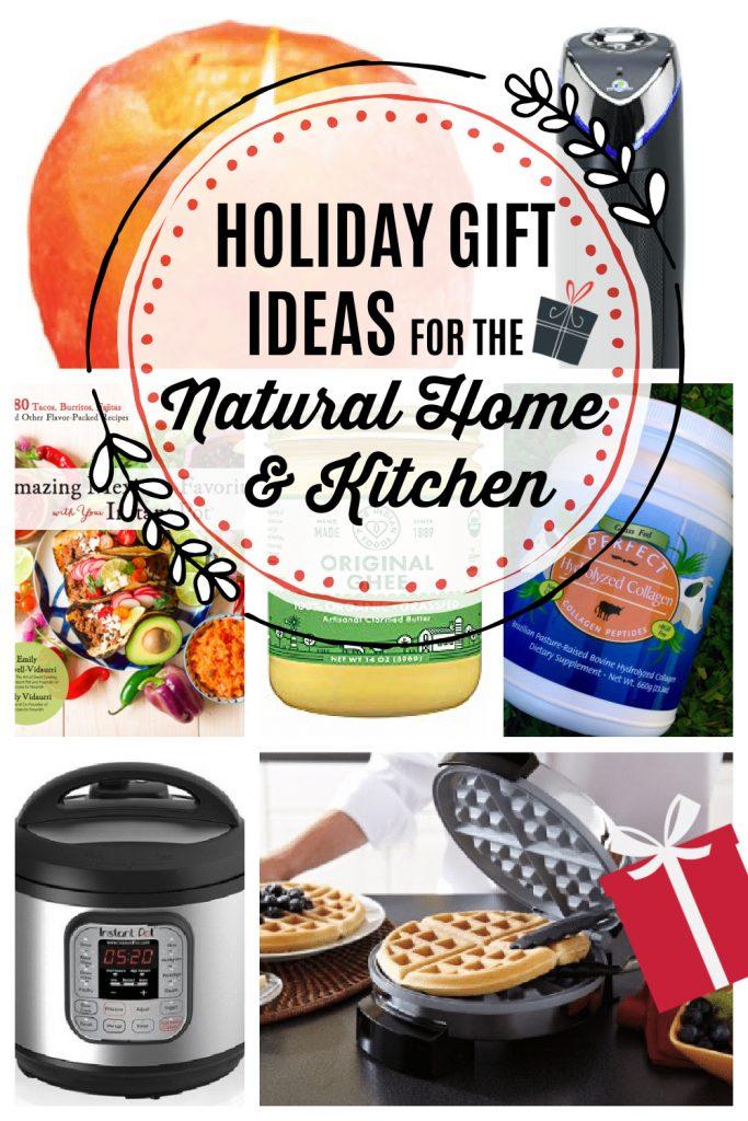 Himalayan salt candler holder, HEPA air purifier, Mexican cookbook, ghee, collagen, Instant Pot, waffler maker.